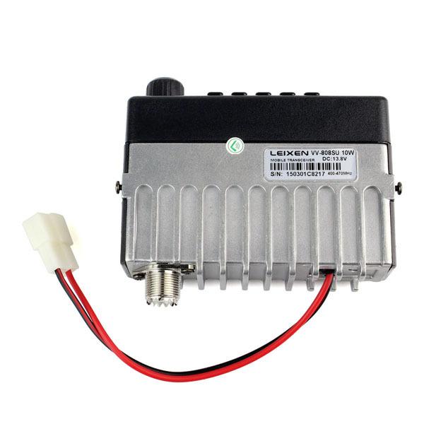 Новое поступление LEIXEN VV-808SU автомобиля одну одно-частота UHF400-470MHz 10 Вт 199CH мобильный трансивер A7168A