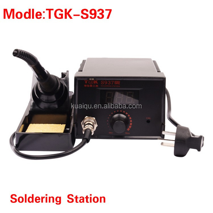 High Quality S937 Temperature and justable and digital display soldering station