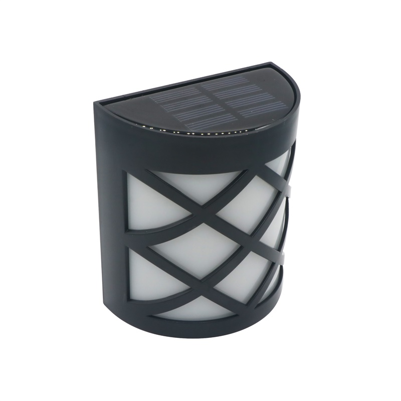 6 LED Motion Sensor Light Outdoor Garden Lamp Led Solar Wall Light