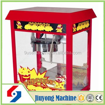 used commercial popcorn machine