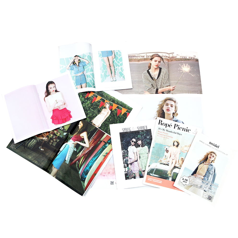 Fashion Ladies Clothing Catalogue Booklet Brochure Folded leaflet Printing