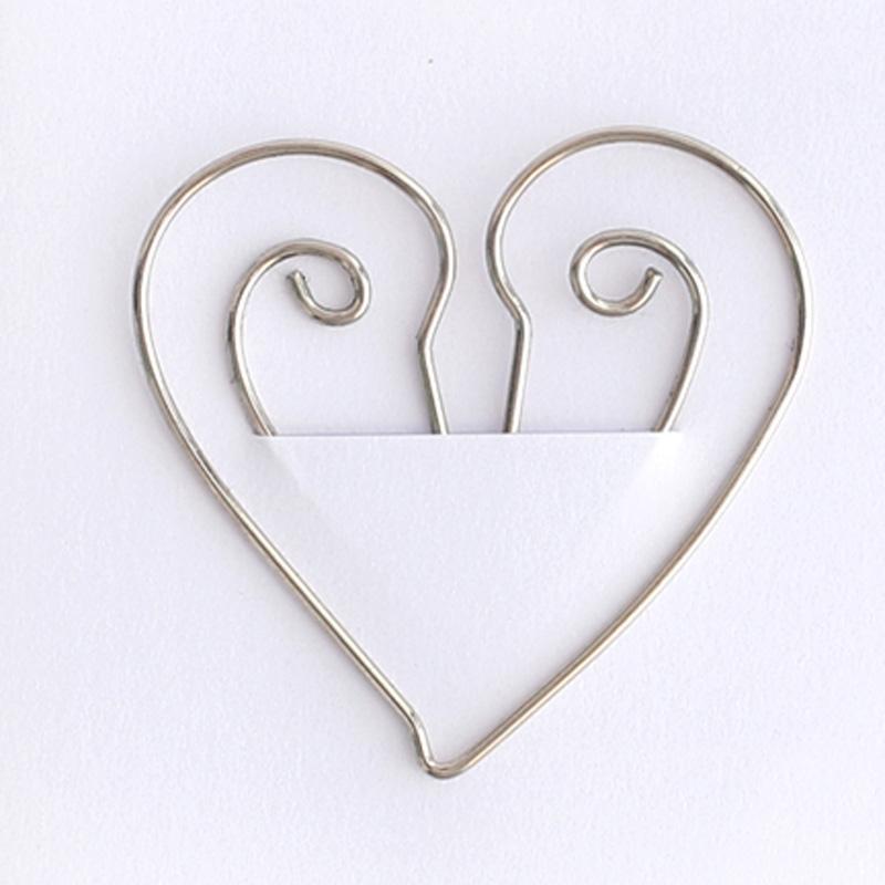 China Leverancier Custom Decoratieve Platte Kleine Metalen Paperclip