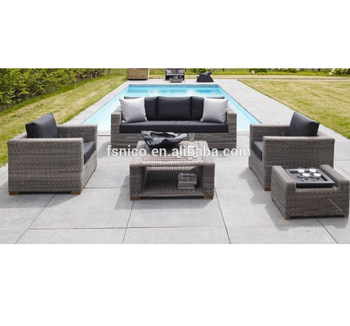 Outdoor All Weather conversation wicker seating set