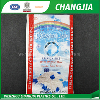 High quality new design pp rice bag 50kg
