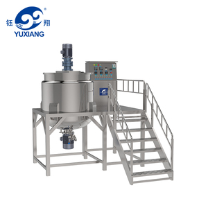 stainless steel soap mixer machine liquid detergent production line