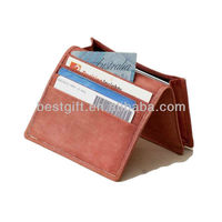 PU Leather Business Card Case Promotional