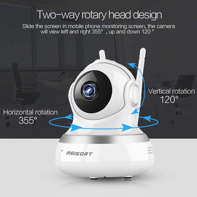Shenzhen Factory Cheap Security Camera 1080P Resolution Wifi IP Camera Y203S