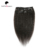 Afro Kinky Straight Clip in Hair Extensions For Black Women,Virgin Hair Full Head Clip In Hair Extensions