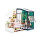 New design wooden diy toy hot sale kids doll house toy