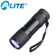 9 LED UV Flashlight 395nm Ultraviolet Black Light Pet Urine Detector Torch