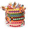Lancui Best Selling Friendship Bracelets handmade Fabric Woven bohemian jewelry bracelet Customized Bracelet