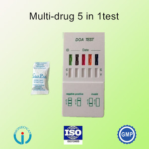 Rapid Urine Drug Test Panel/Multi DOA Test( MOP/MET/COC/THC/KET/MDMA/AMP/BAR/BZO/BUP/MTD)