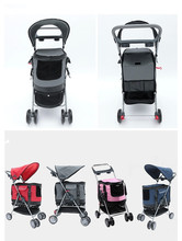 Redhill 4 Wielen Opvouwbare <span class=keywords><strong>Hond</strong></span> Trolley kinderwagens