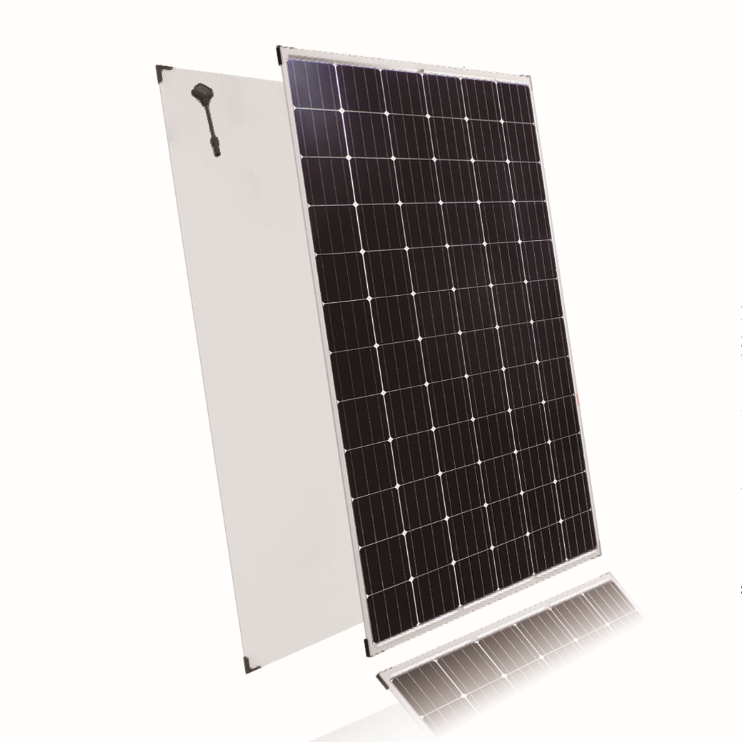 Top China PV supplier 250w 270w 275w 280w 300w double glass cheap monocrystalline solar panel with 72 cells