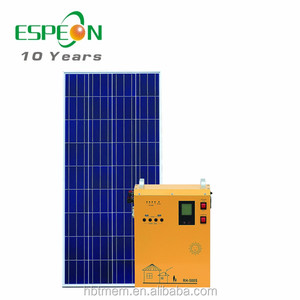 off grid portable solar power system for home lighting &fan &TV for outdoor