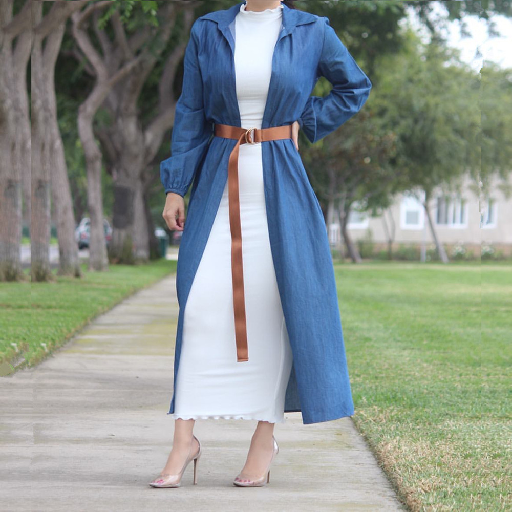 Hot sale new fashion muslim women inner dress abaya cotton maxi dress