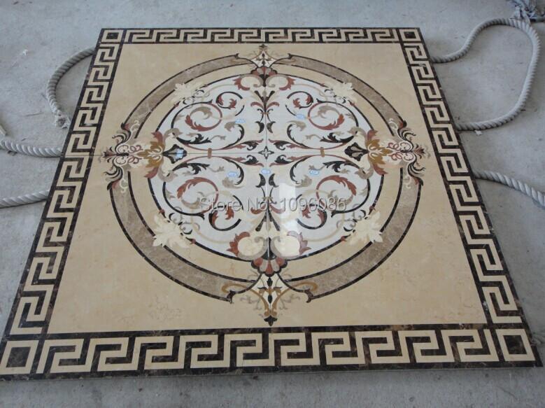 Custom Marble Floor Wall Decorative Medallion Puzzle