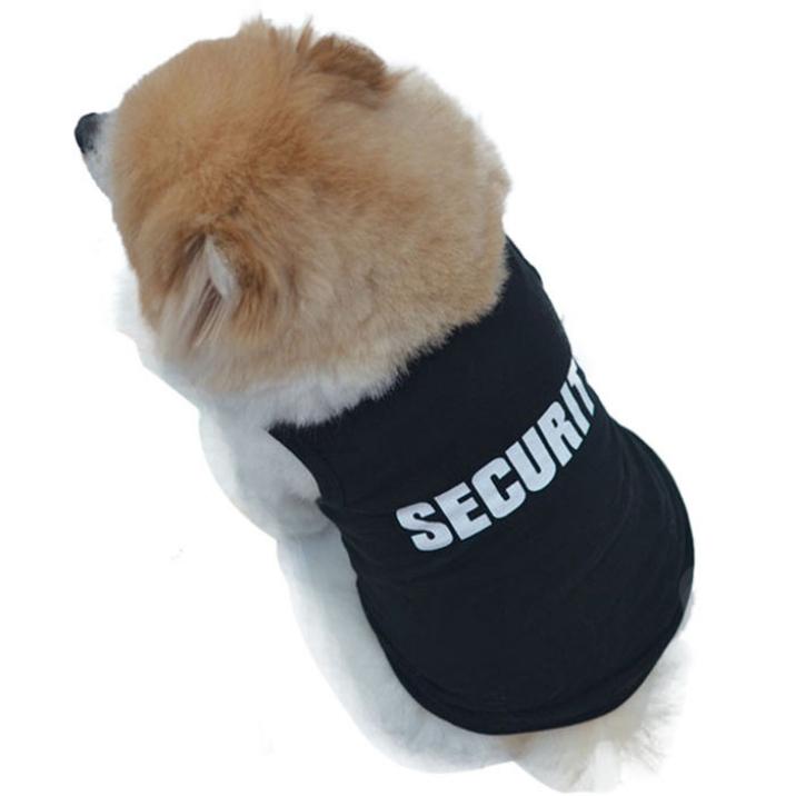 Самое лучшее лето милый черный цвет собака домашнее животное жилет щенок письма печать хлопок T рубашка размер XS-L 1 пк