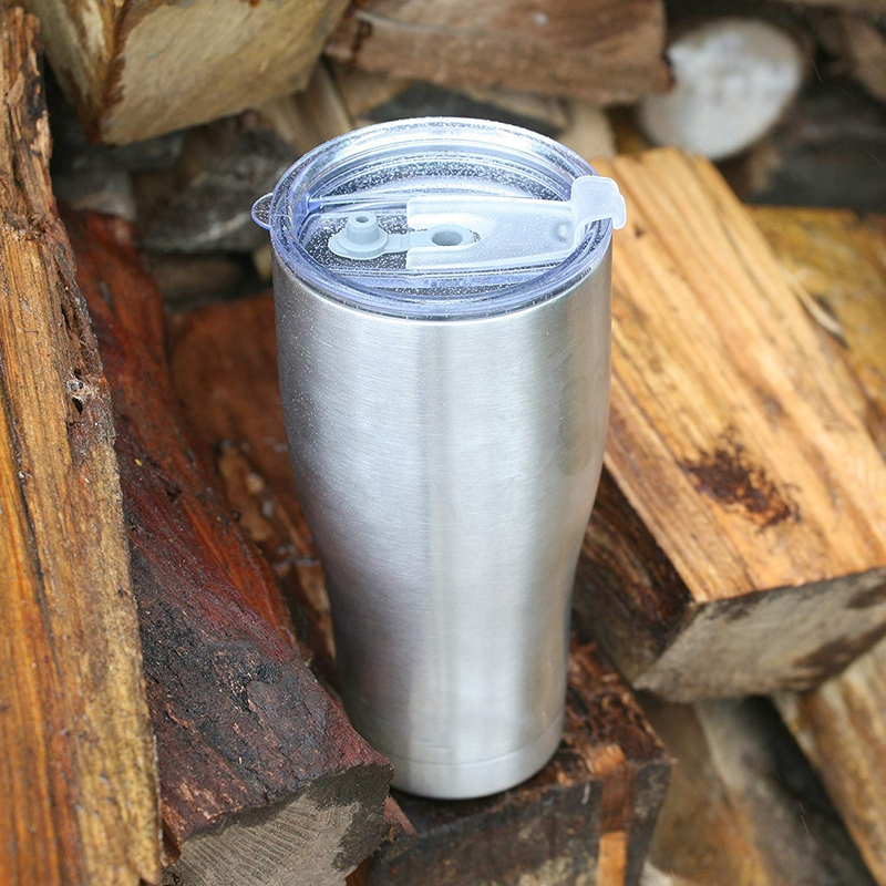 30oz Modern Curve Tumbler Double Wall Insulated Tumbler Coffee Mug