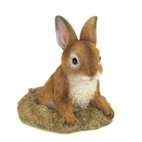 Wholesale Polyresin Easter Garden Decor Bunny Figurine