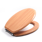 Molded Wood veneer Natural Emulation OEM family hygienic toilet bidet seat wc for man