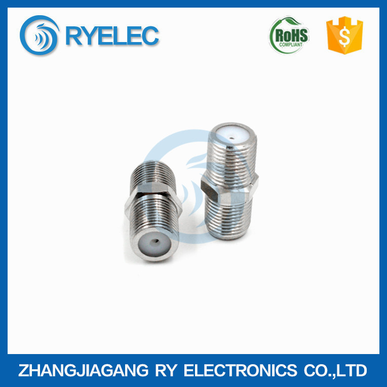 High quality F female to F female RF adapter connector