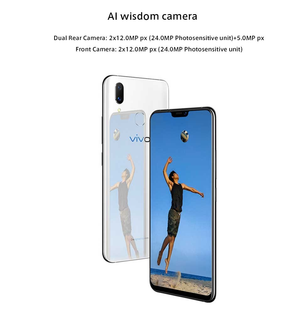 67c6f66c3 2018 Original Vivo X21 Mobile Phone 6.28 Inch 19 9 Full Screen 6gb ...