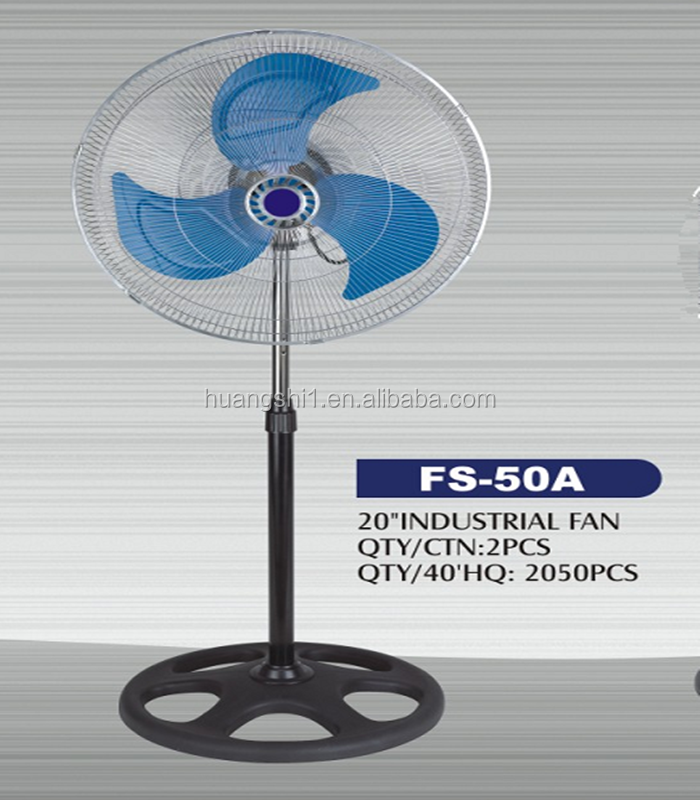 Saving power resource 220v 70W 18 inch stand fan portable air conditioner