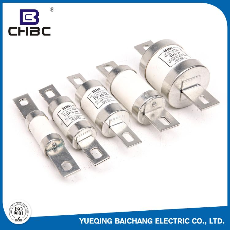 Chbc Iso9001 Certification Low Voltage Porcelain 200 Amp Hrc Fuse