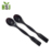 reusable plastic long handle coffee stirring spoons