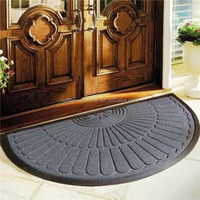 Cool anti slip door mat/outdoor anti-slip mat/rubber door floor mat