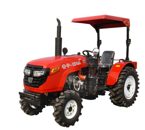 Iseki Four Wheel Drive Farm Tractor Working Fields