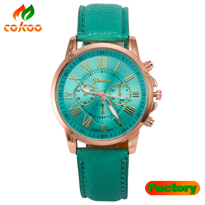 Best new design cheap leather watches women china wholesale Private label watch