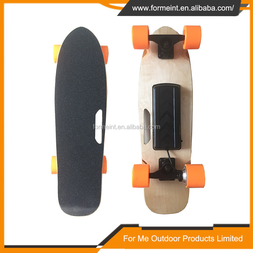 New Electric Long Board Boosted Skateboard 200W 4 Wheel Electric wooden Skateboard with Remote