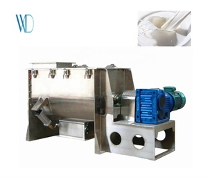 WLDH 304 stainless steel ribbon mixer with high quality