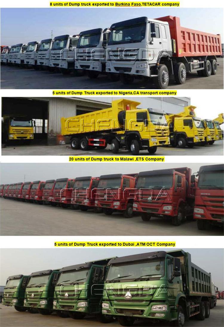 Used Dump Truck 6x4 10 Wheeler 20ton 25tom 35ton Dump