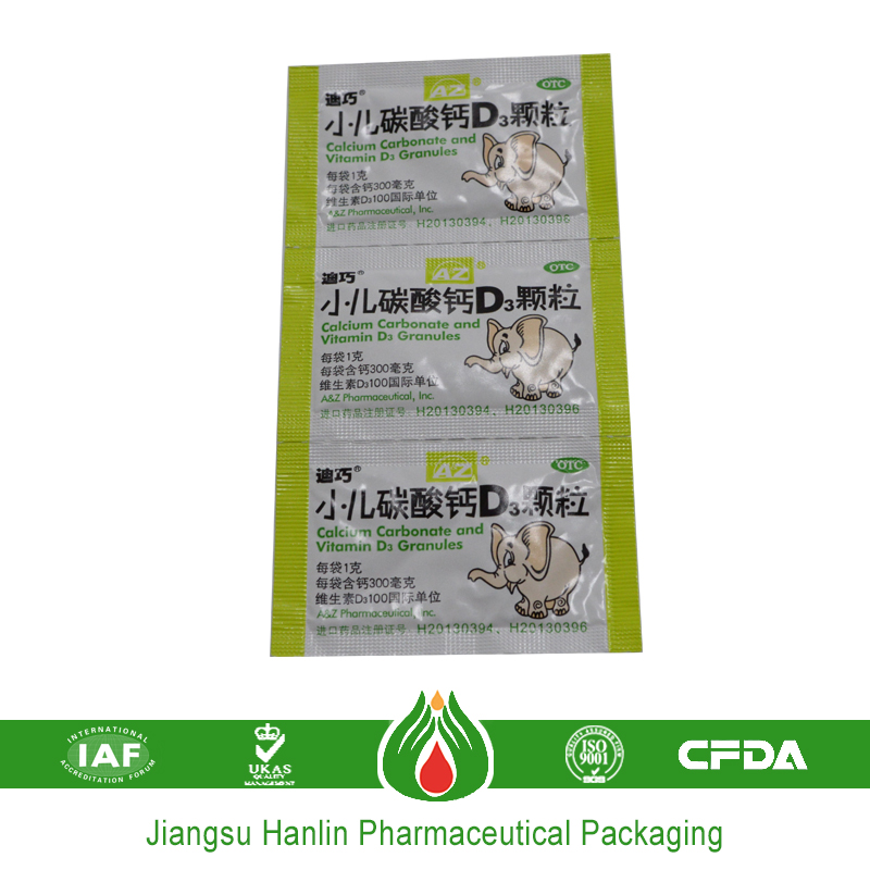 medication blister packaging foils and papers in china