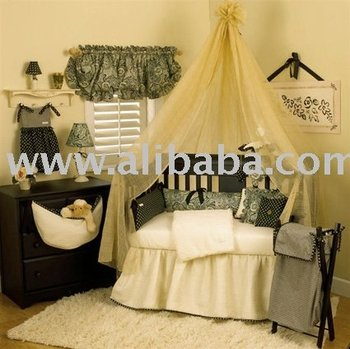 Black Cream Trendy Boutique Baby Bedding Crib Sets Nursery Decor Furniture Product On Alibaba