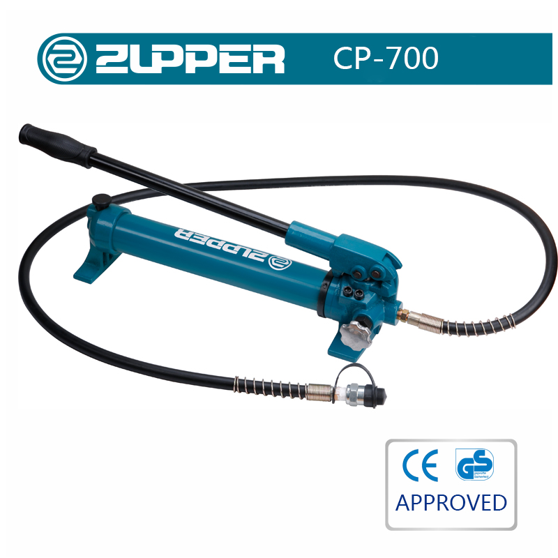 Zupper CP-700 hand operated held hydraulic oil pump