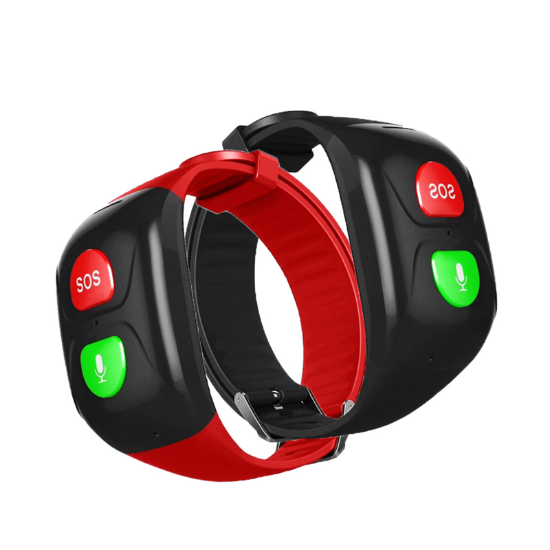 Wristband Smartwatch One Key Call Emergency Watch Phone SOS Elderly Step Counter Kids GPS Watch SOS Alarm Anti-Lost GPS Watch