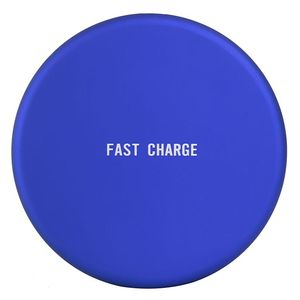 Round Blue, Red,Black ,White,Gray Fast Charge round mobile phone Qi wireless charger