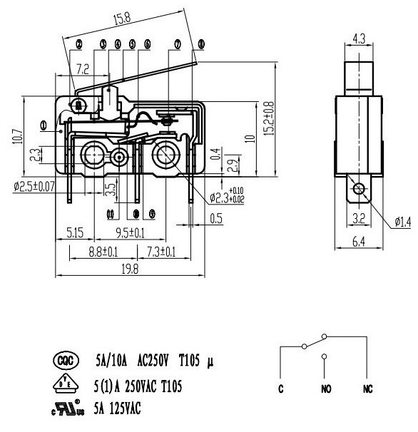 Excellent New Design Mouse Micro Switch Wiring Diagram Buy Mouse Micro Wiring 101 Akebretraxxcnl