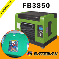 Direct to garment A3 size most popular colorful solvent digital t shirt printers for sale