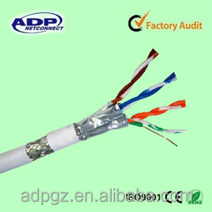 ADP Bare copper Cat 7 network cable communication cable utp/stp/sftp cat5/cat 5e/cat6/cat 6a/cat 7 indoor Outdoor lan cable
