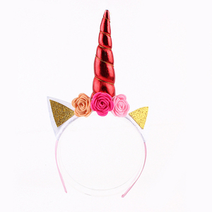 Yiwu Factory direct wholesale unicorn headband with high quality and good price