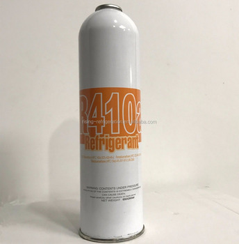 Net Weight 650g small can R410a refrigerant gas