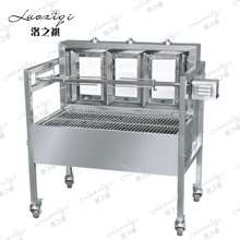 Stainless Steels Electric Commercial Charcoal BBQ,Barbecue Grill Outdoor Portable Charcoal BBQ