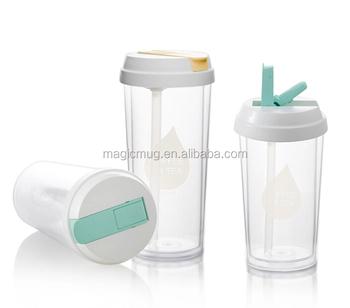Cup Plastic Diy Coffee Travel Mugs