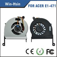 Silver DC 5v 3-pin Laptop fan for acer e1-471 e1-431 e1-451g e1-471g v3-471g laptop cooling cpu fan DFS531105MC0T