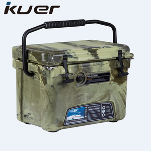 20qt customized mix color rotomolded insulated cooler box wholesale from Kuer kayak manufacturer